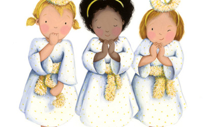 Christmas Card Angels