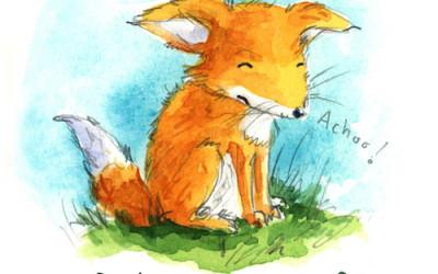 Get Well Fox