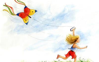 Girl Kite