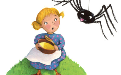 Little Miss Muffet Spider