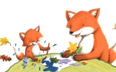 Painting Foxes
