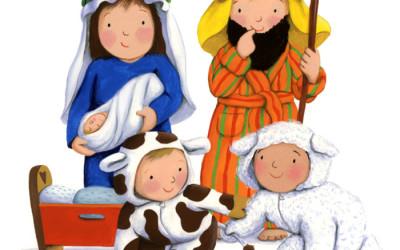 Shepherds Xmas Card